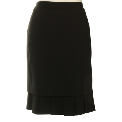 Hermès skirt in black