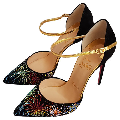 "Christian Louboutin ""Rivierina"" Sandaletten Andere Farbe"