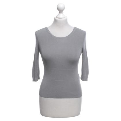 Jil Sander maglione seta in grigio