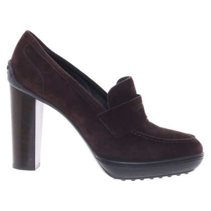 Tod's Suede pumps in brown