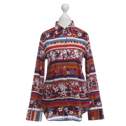 Van Laack Blouse with colorful patterns