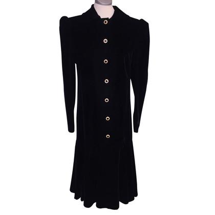 Yves Saint Laurent fluwelen jurk