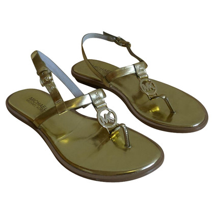 Michael Kors Sandals in gold