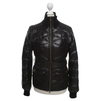 Strenesse Blue Quilted down jacket in black