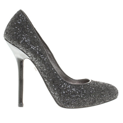 Miu Miu pumps con finiture in paillettes