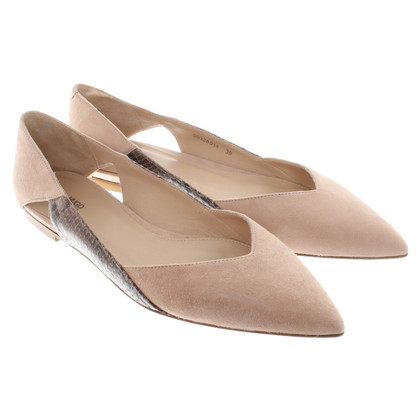 Hugo Boss Ballerinas in beige