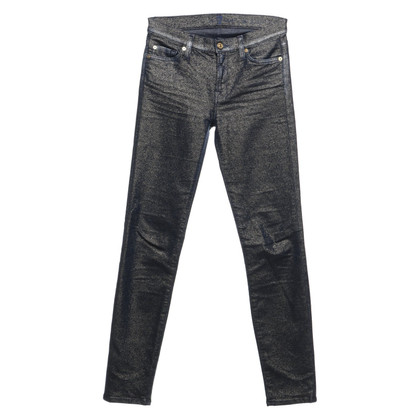7 For All Mankind Jeans with glitter surface
