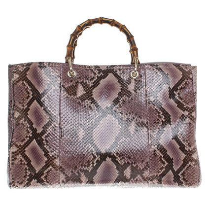 "Gucci ""Bamboo Bag"" made of snakeskin"