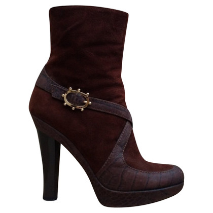 Escada Ankle Boots Suede