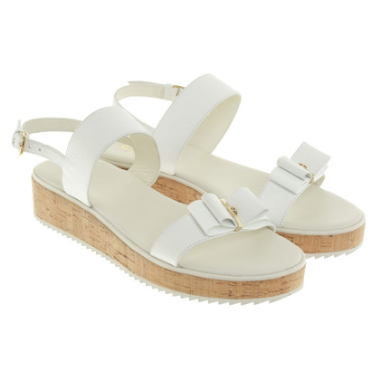 Aigner Sandals in White