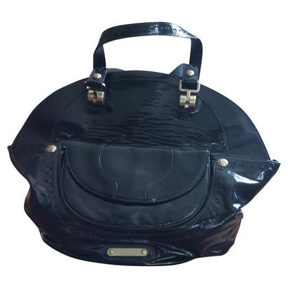 Versace Lackleder-Handtasche