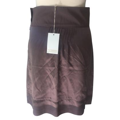 Closed silk skirt