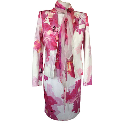Blumarine Dress, Blazer & Scarf