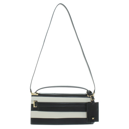 Valentino clutch in black / white