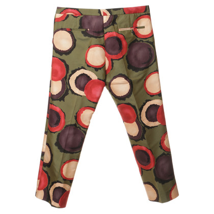 Marni Patterned pants Green