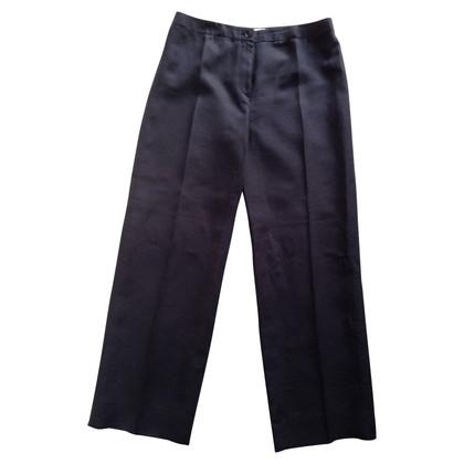 Armani Collezioni trousers in blue