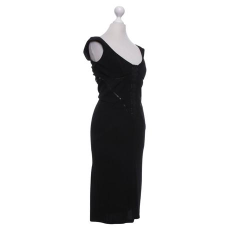Figurbetontes Karen Schwarz Millen Karen in Millen Schwarz Kleid Figurbetontes in Kleid qwYqHr