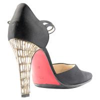 Christian Louboutin Satijn schoen