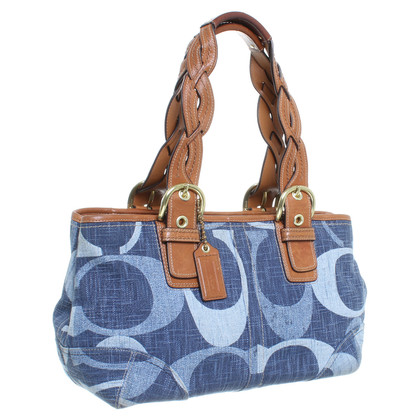 Coach Borsa denim