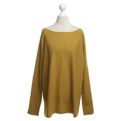 Vince maglione di lana in giallo senape
