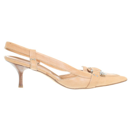 René Lezard Leather sandals