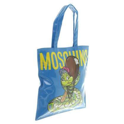 Moschino Tote Bag with comic motif
