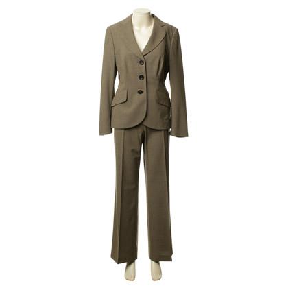 Rena Lange Pantaloni tuta in marrone-oliva