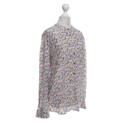 Equipment Blouse with a floral pattern