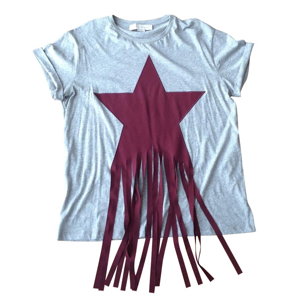 stella mccartney t shirt mit fransen second hand stella mccartney t shirt mit fransen. Black Bedroom Furniture Sets. Home Design Ideas