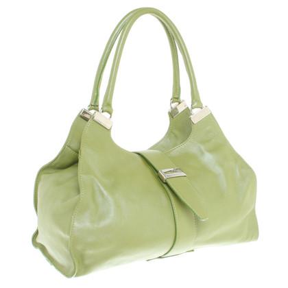 Coccinelle Handtas in groen