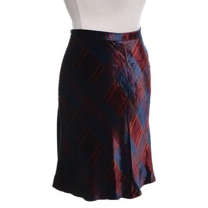 Ralph Lauren Velvet skirt with plaid pattern