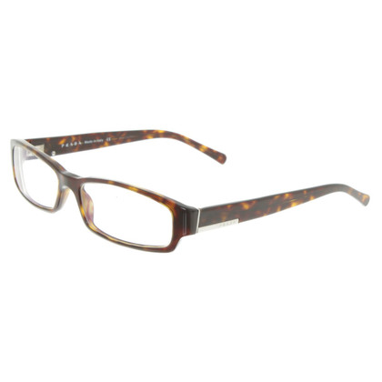 Prada Eyeglass frame with tortoiseshell pattern
