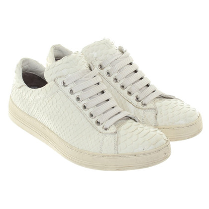 Tom Ford Sneakers in Weiß