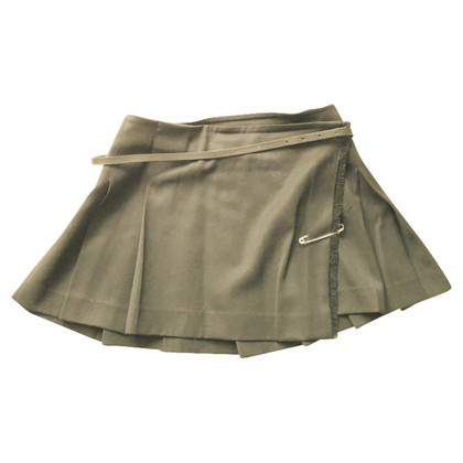 Burberry Skirt with safety pin decoration