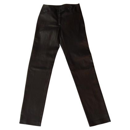 Jitrois pantalon en cuir