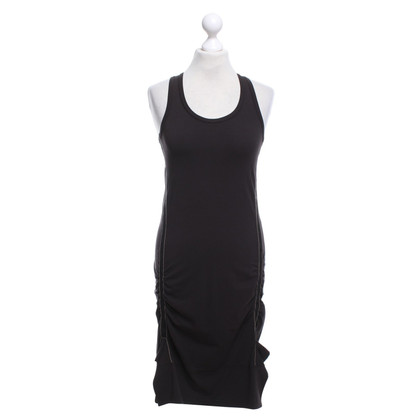 Marithé et Francois Girbaud Sporty dress in dark brown