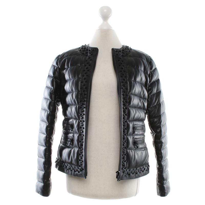 Steven k leather jacket
