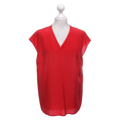 Escada Silk blouse in red