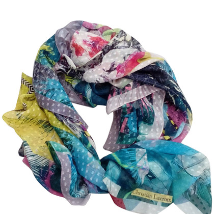 Christian Lacroix zijden sjaal