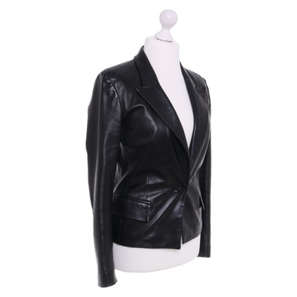 Yves Saint Laurent Leather Blazer