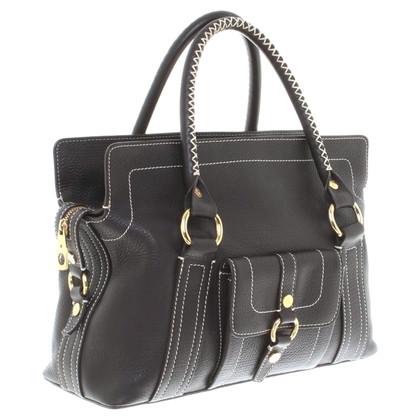 "Céline ""Boogie Bag"" in dark brown"