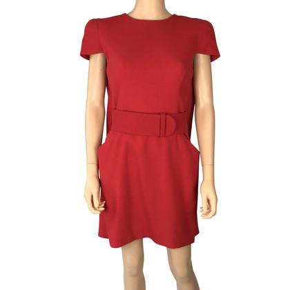 McQ Alexander McQueen Kleid in Rot