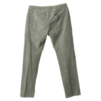 James Perse Corduroy pants in gray/green