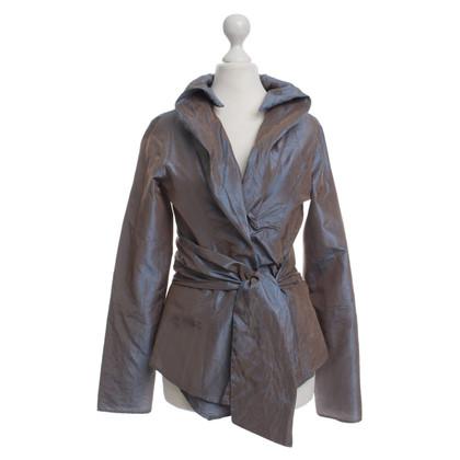 Etro Iridescent silk blouse