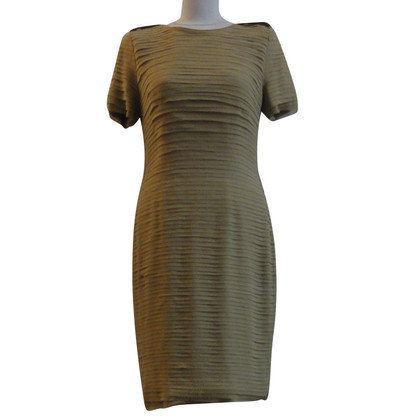 Burberry Olive silk dress