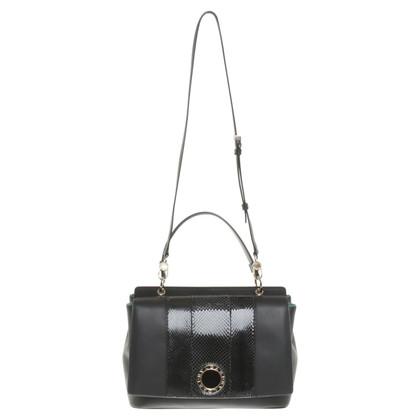 Bulgari Handtasche in Schwarz