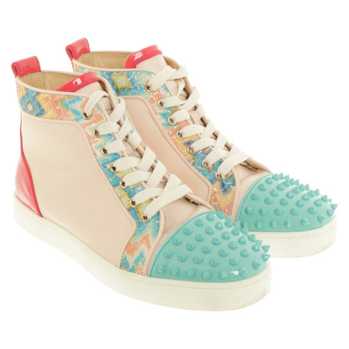 9d7e98a5448a Christian Louboutin Sneakers in multicolor - Second Hand Christian ...