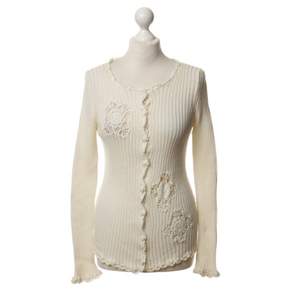 Blumarine Cardigan in cream colours