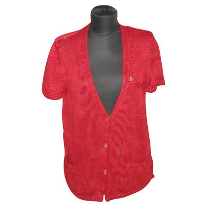 Max Mara Cardigan in maglia in rosso