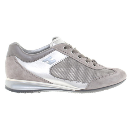 Hogan Sneakers in Grau/Silber